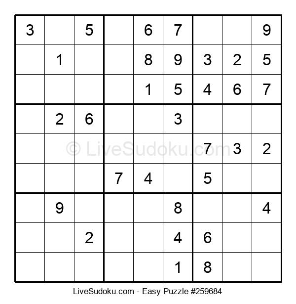 Beginners Puzzle #259684