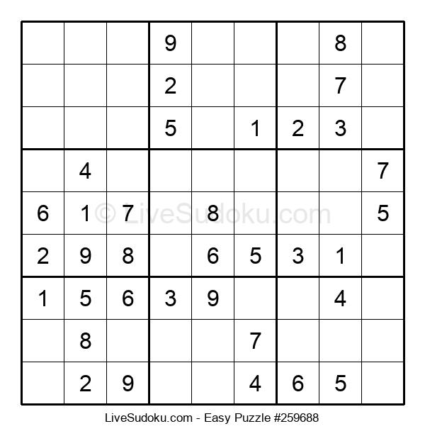 Beginners Puzzle #259688