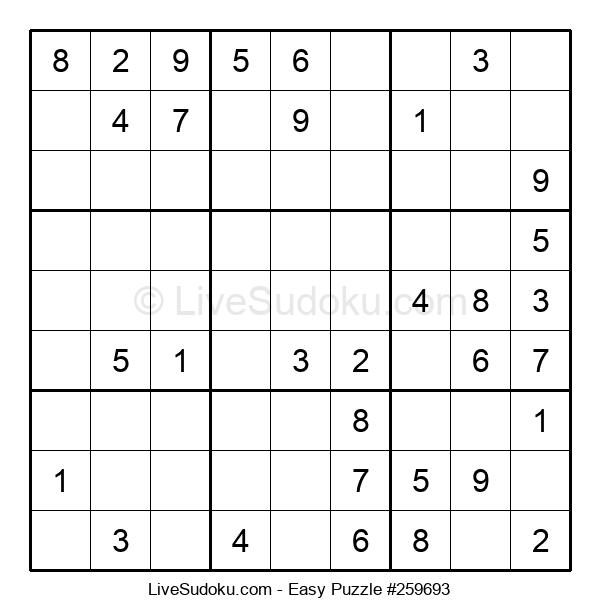 Beginners Puzzle #259693