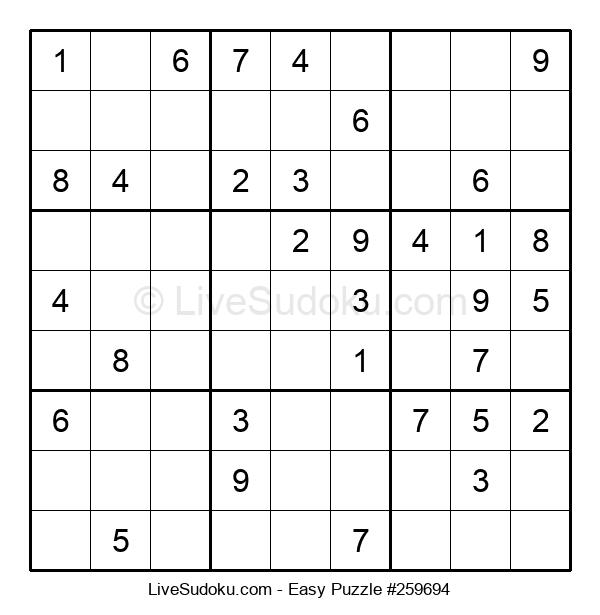 Beginners Puzzle #259694