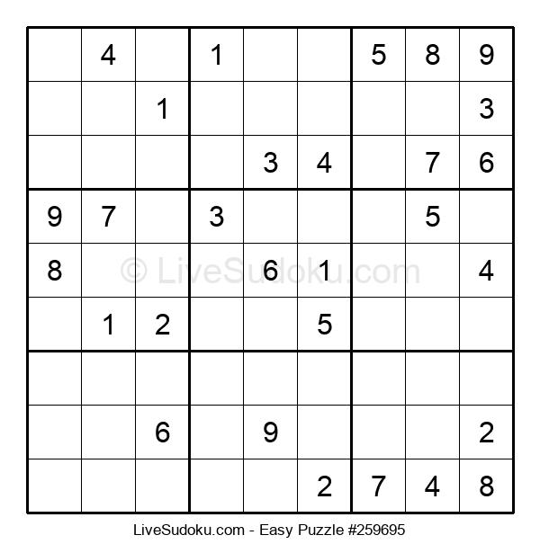 Beginners Puzzle #259695