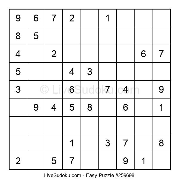 Beginners Puzzle #259698