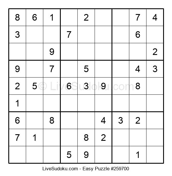 Beginners Puzzle #259700