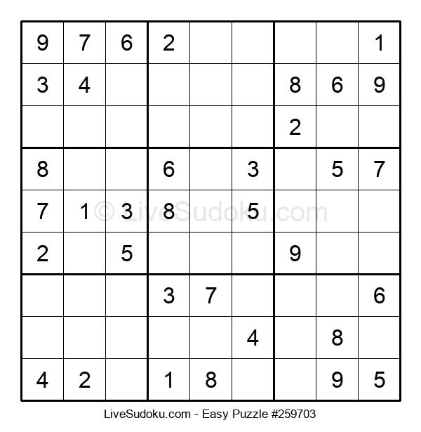 Beginners Puzzle #259703