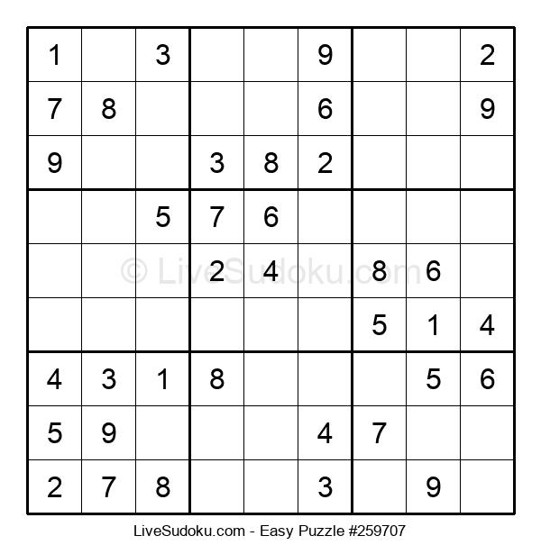 Beginners Puzzle #259707