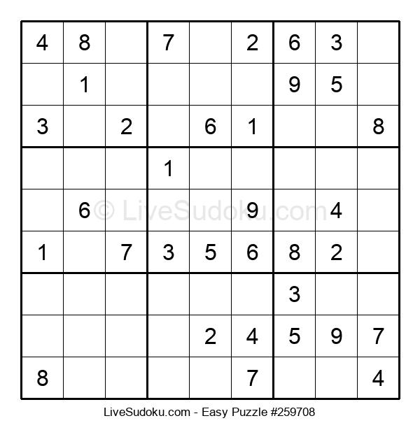Beginners Puzzle #259708