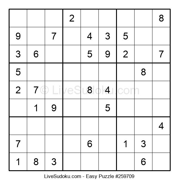 Beginners Puzzle #259709