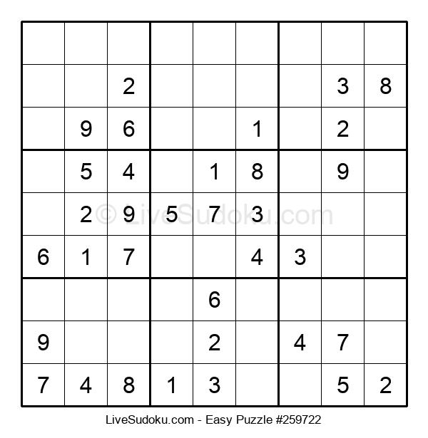 Beginners Puzzle #259722