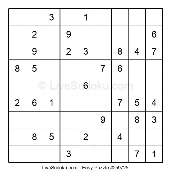 Beginners Puzzle #259725