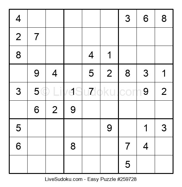Beginners Puzzle #259728