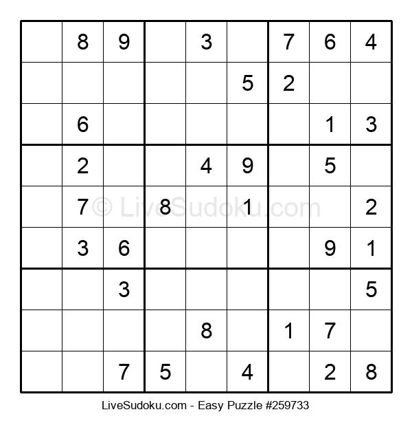Beginners Puzzle #259733