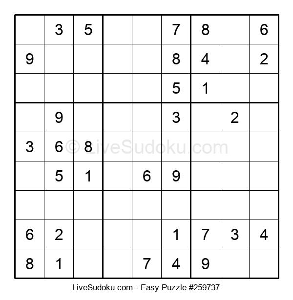 Beginners Puzzle #259737