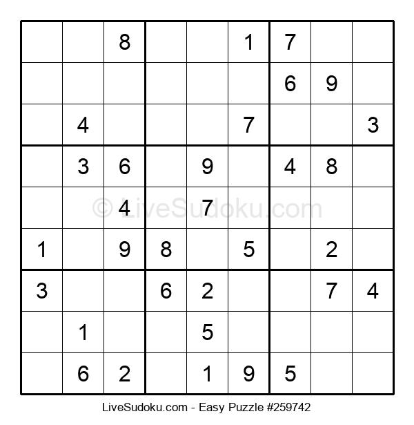 Beginners Puzzle #259742