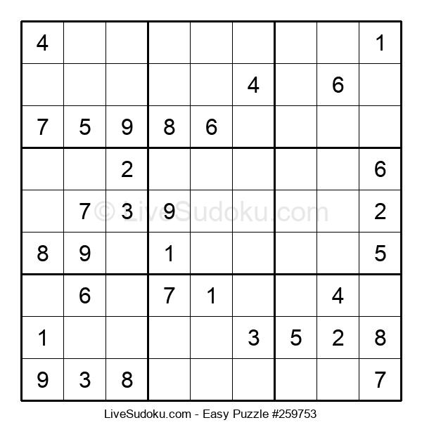 Beginners Puzzle #259753