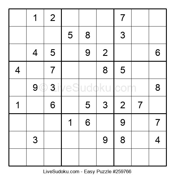 Beginners Puzzle #259766