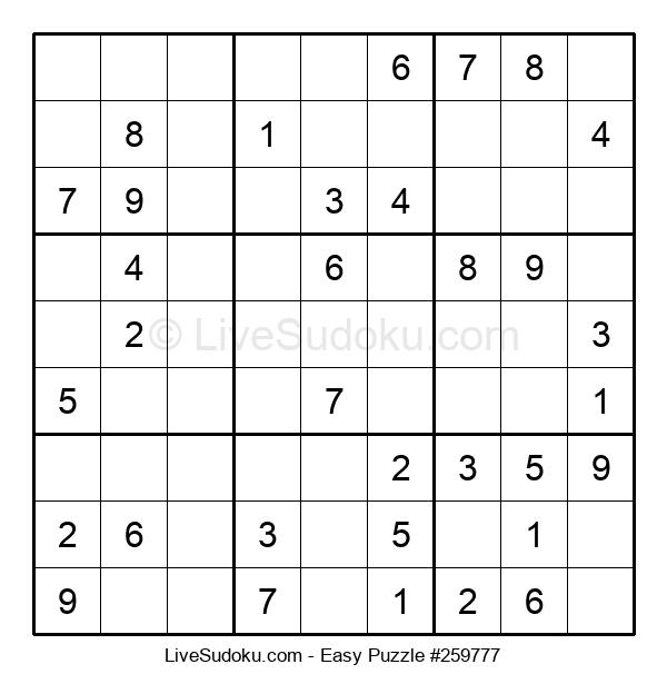 Beginners Puzzle #259777