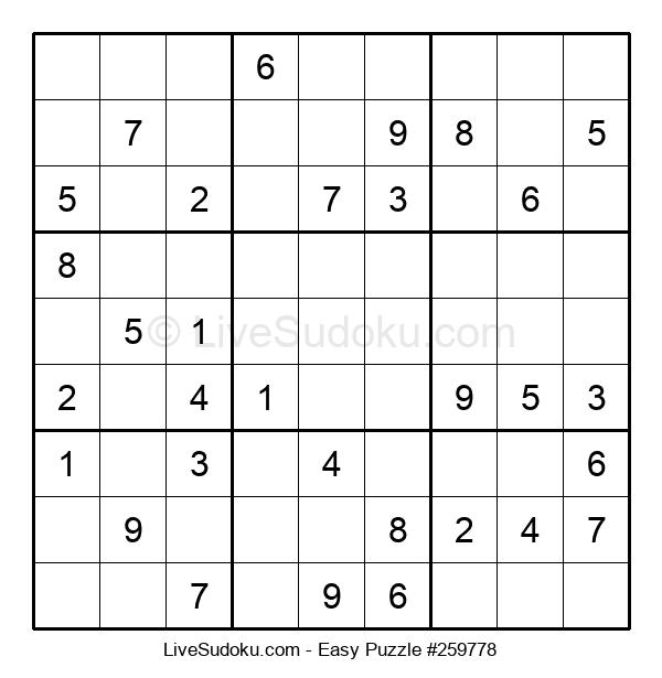 Beginners Puzzle #259778