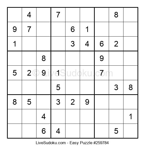 Beginners Puzzle #259784
