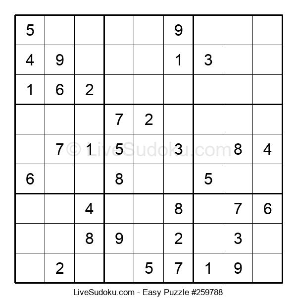 Beginners Puzzle #259788