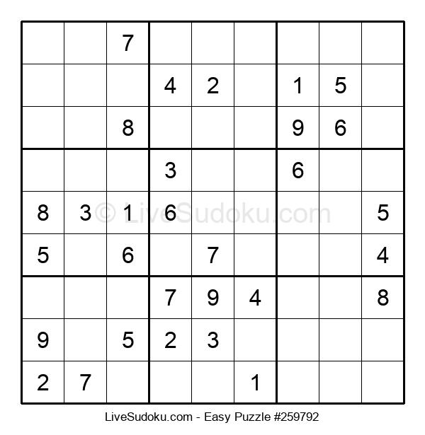 Beginners Puzzle #259792