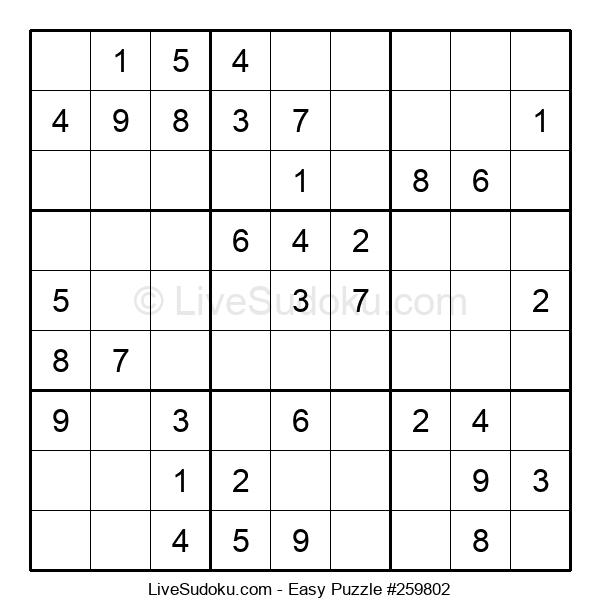 Beginners Puzzle #259802