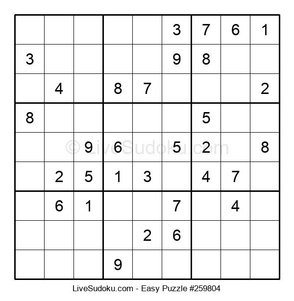 Beginners Puzzle #259804