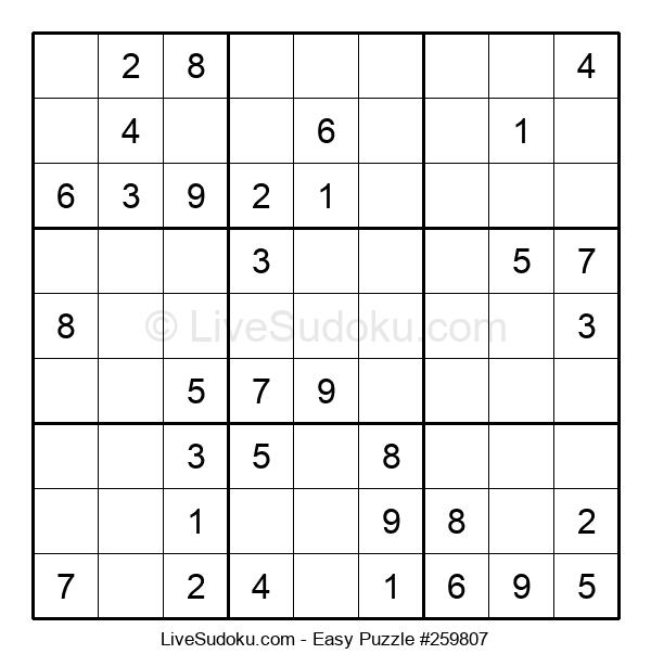 Beginners Puzzle #259807