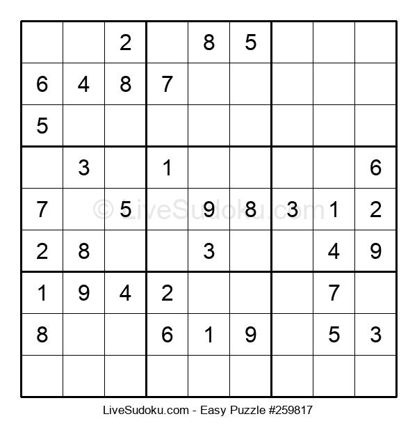 Beginners Puzzle #259817