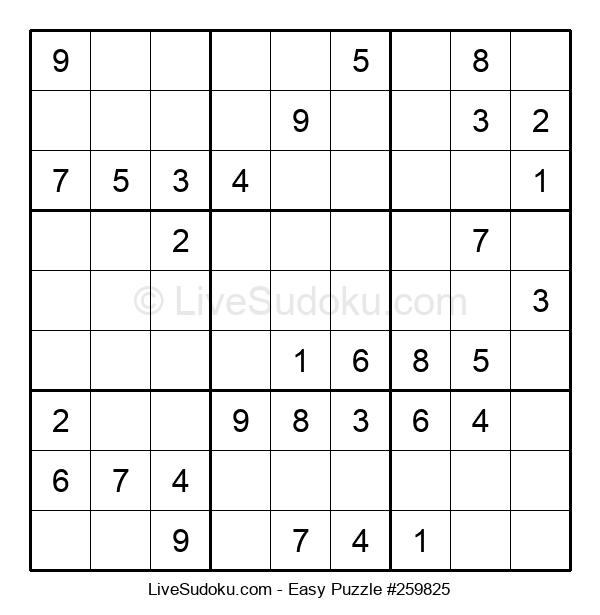 Beginners Puzzle #259825