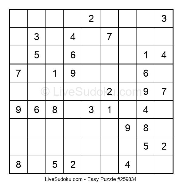 Beginners Puzzle #259834