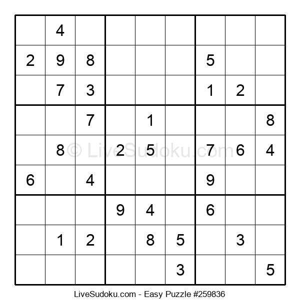 Beginners Puzzle #259836