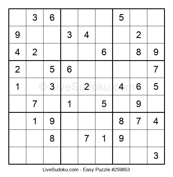 Beginners Puzzle #259853