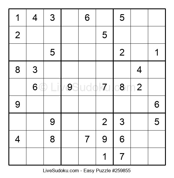 Beginners Puzzle #259855