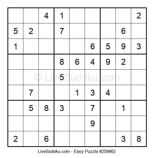 Beginners Puzzle #259862