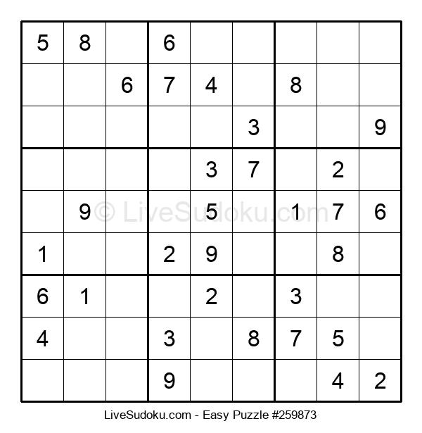 Beginners Puzzle #259873