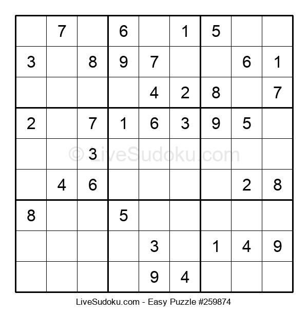 Beginners Puzzle #259874
