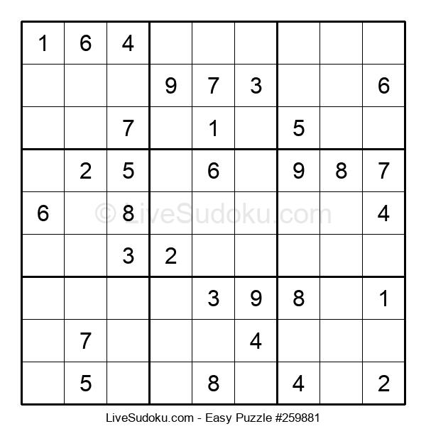 Beginners Puzzle #259881