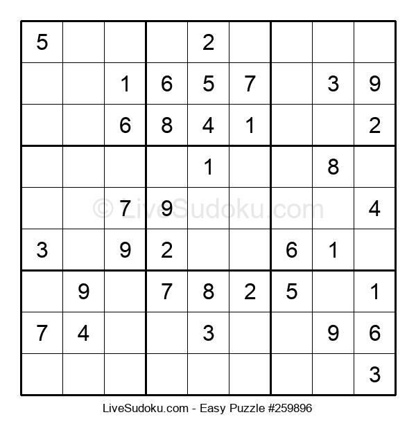 Beginners Puzzle #259896