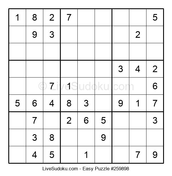Beginners Puzzle #259898