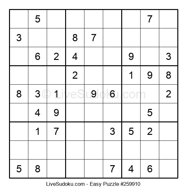 Beginners Puzzle #259910