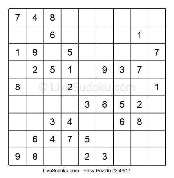 Beginners Puzzle #259917