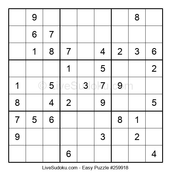 Beginners Puzzle #259918