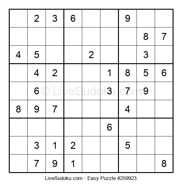 Beginners Puzzle #259923