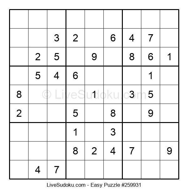 Beginners Puzzle #259931