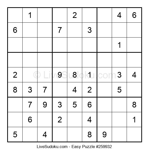 Beginners Puzzle #259932