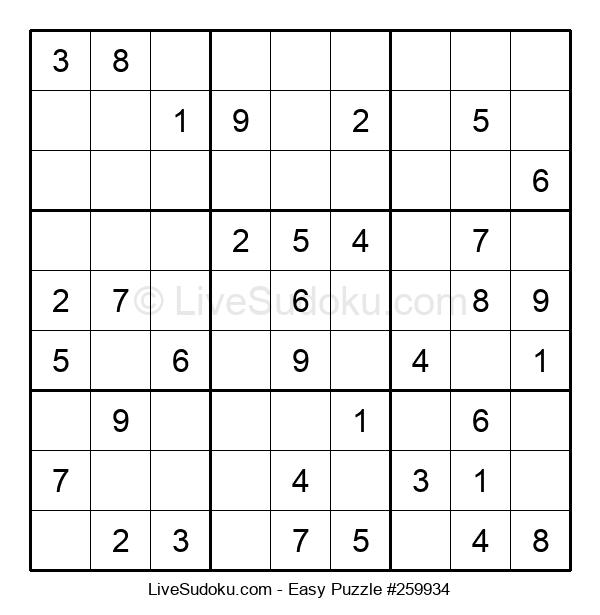 Beginners Puzzle #259934