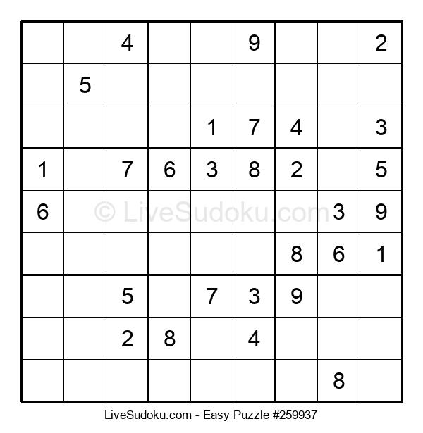 Beginners Puzzle #259937