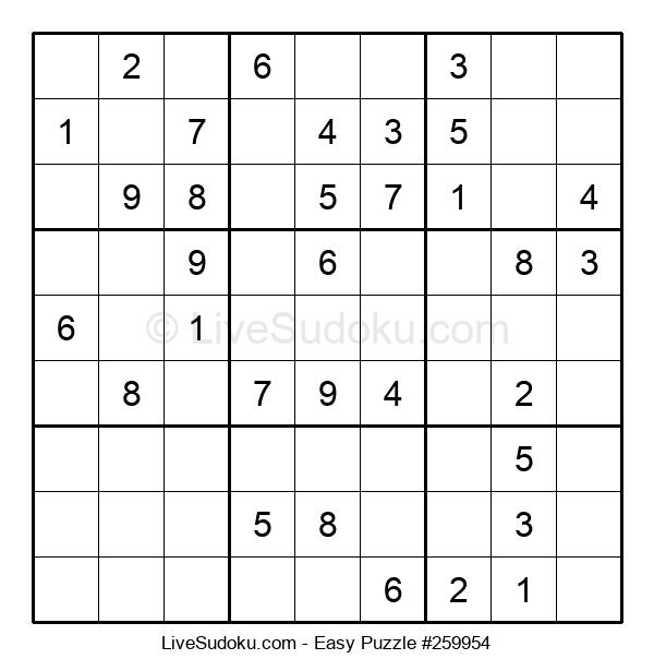 Beginners Puzzle #259954