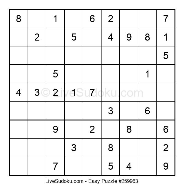Beginners Puzzle #259963