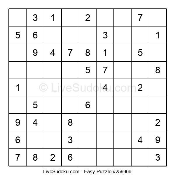 Beginners Puzzle #259966